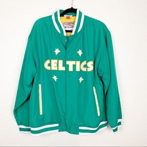 Mitchell & Ness Celtics jacket